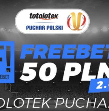 Totolotek obstawianie za freebet. 50 PLN do wykorzystania!