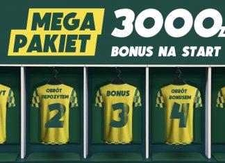 Bonus powitalny 3000 zł w Betfan