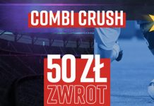 Promocja Combi Crush na 1. kolejkę Ligi Mistrzów. Do zdobycia 50 zł!