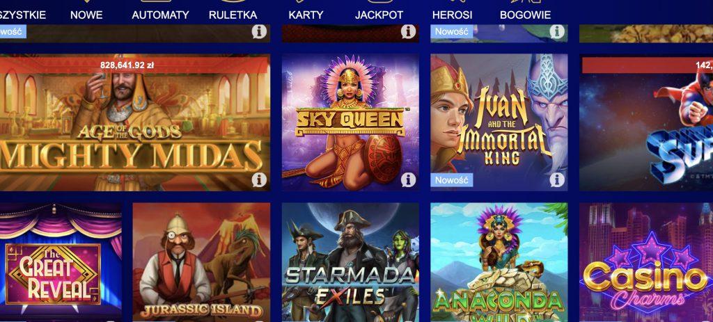 Total Casino: bonusy i oferta polskiego kasyna